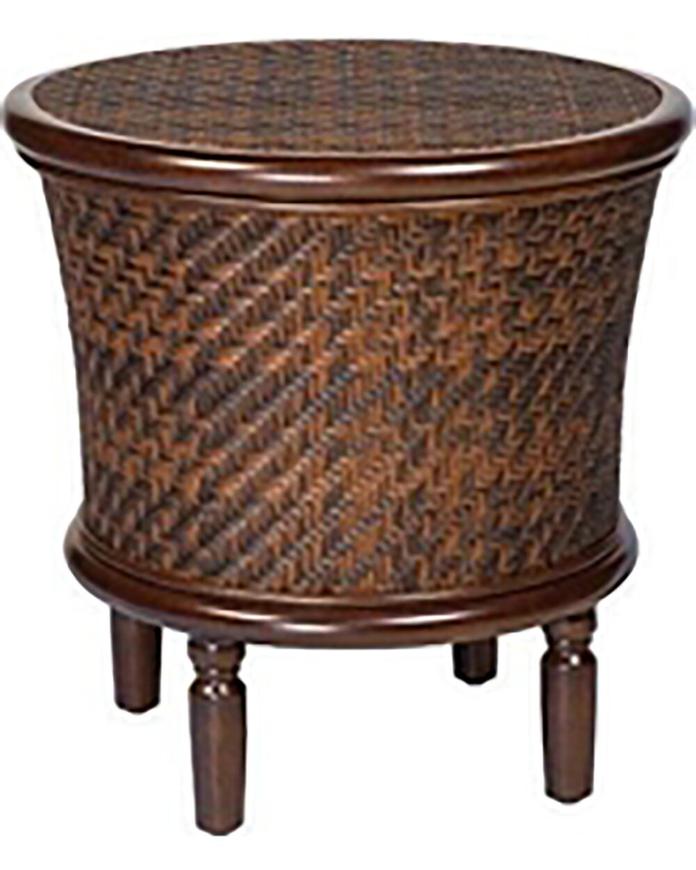Northshore Golden Crown Round End Table
