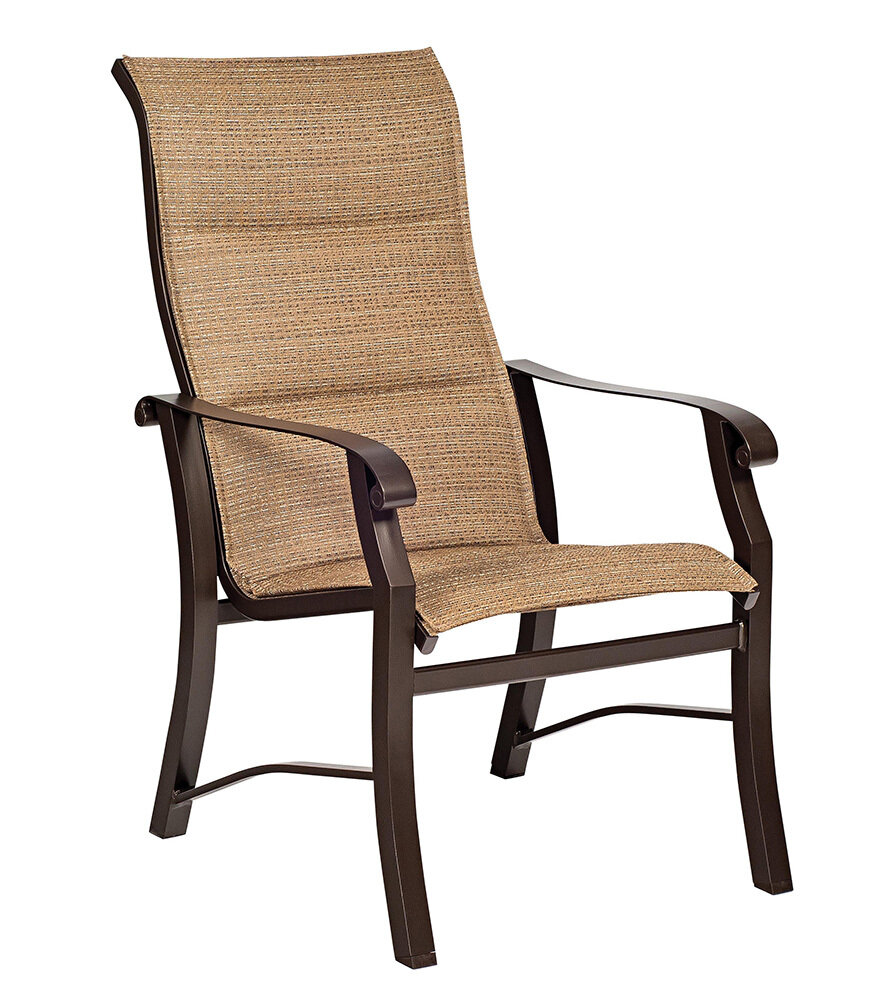 Cortland Padded High Back Dining Chair