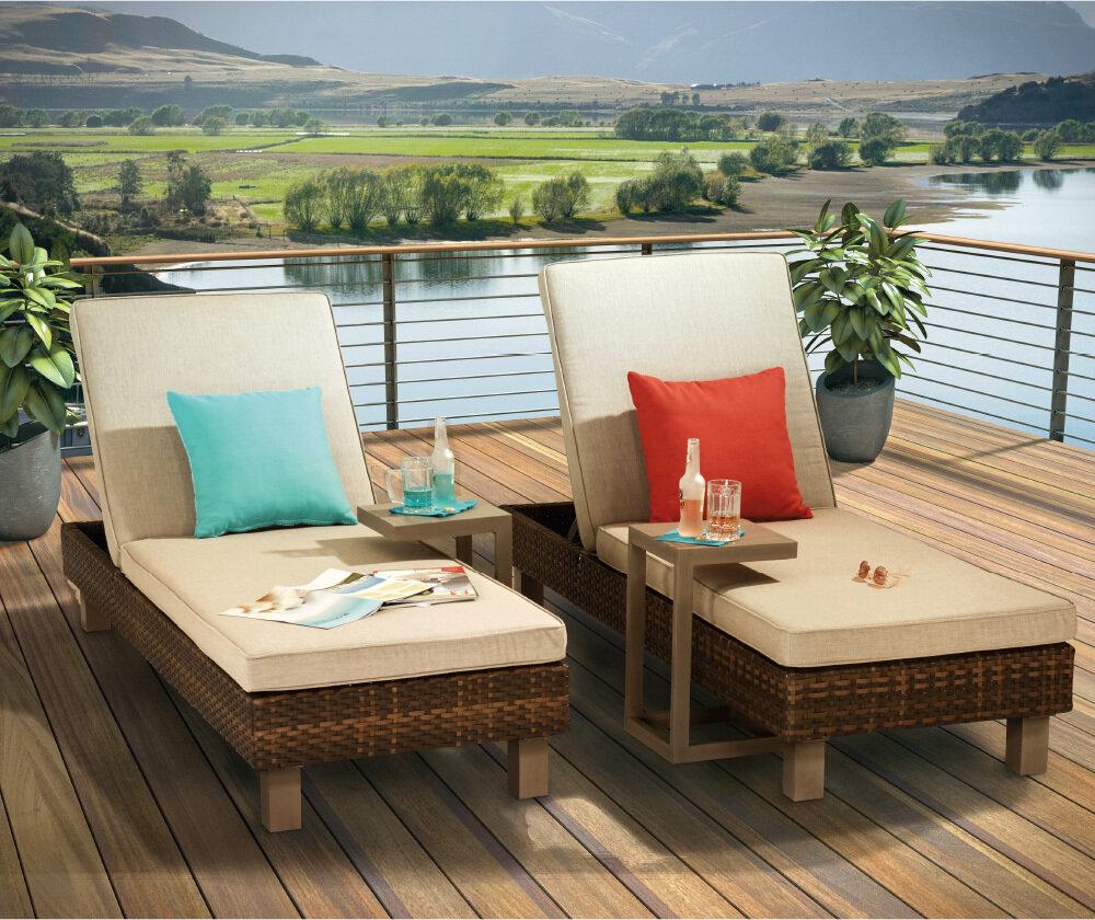 Tahoe 4 PC Chaise Lounge Set