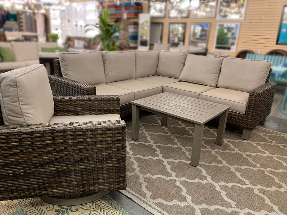 Tahoe 5 PC Woven Deep Seating Set