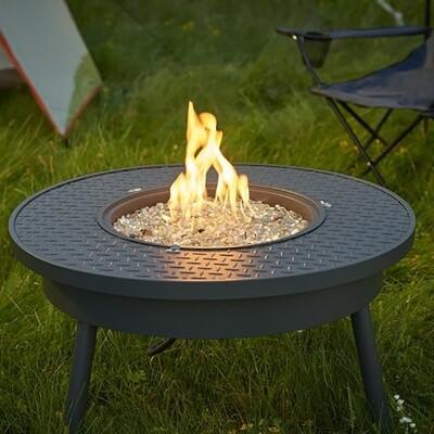 Renegade Black Portable Gas Fire Pit Table