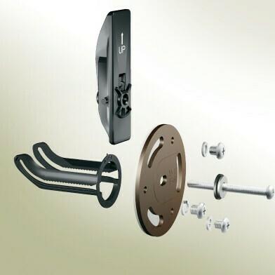 Kingsley Old World Bronze Securemount Grab Bar Anchors 2Pc