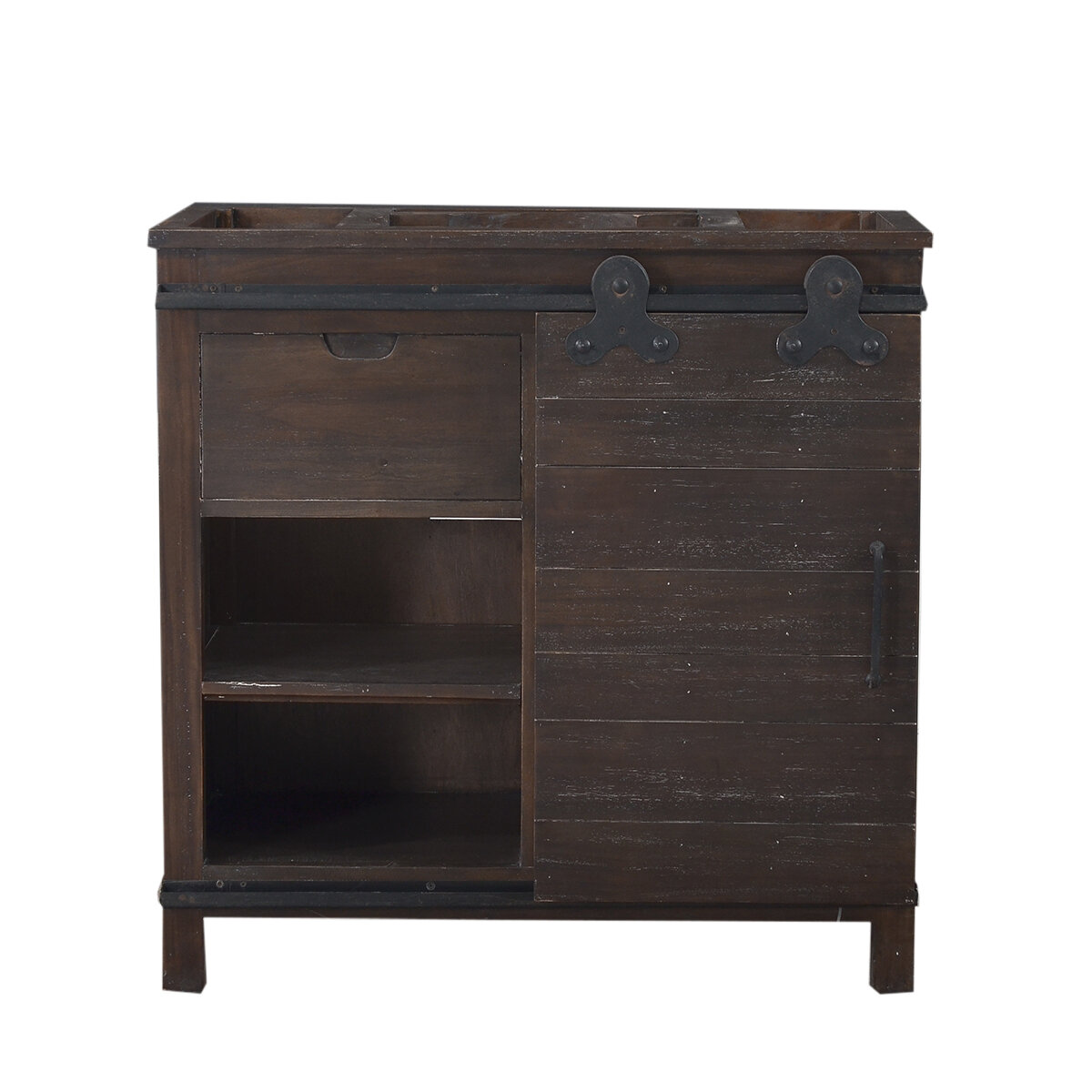 Sonoma Cocoa Single Vanity w/out Top