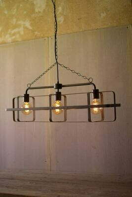 Metal 3 Light Pendant
