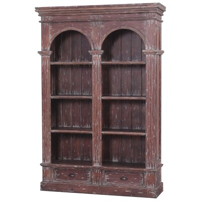 Roosevelt Smackle Crack Double Arch Bookcase
