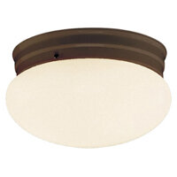 Dash Oil Rubbed Bronze 2 Lt Flush Mount
