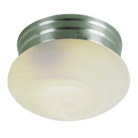Dash Brushed Nickel 2 Lt Flush Mount