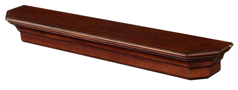 Lindon Mission Oak Finished Mantel Shelf