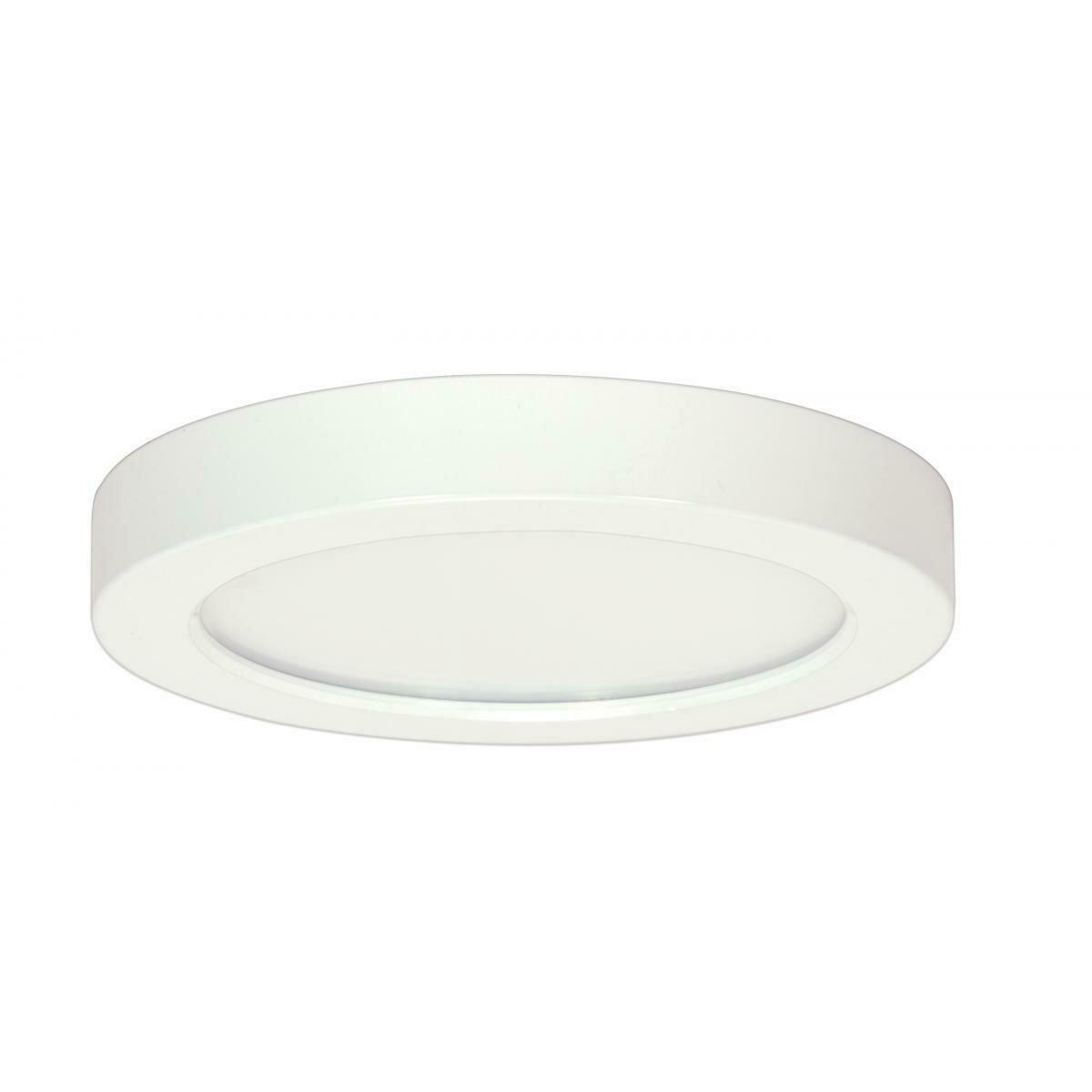 White Round LED Flush Mount (DISPLAY ONLY)