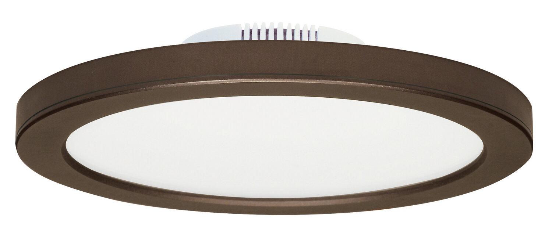 Blink Bronze 3K Slim LED Flush Mount 5/8 Edge