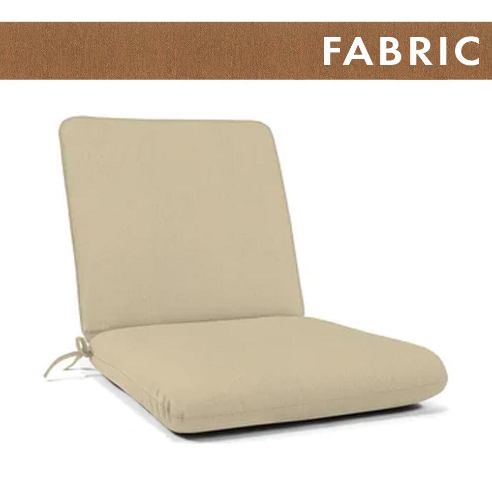 Canvas Teak Large Club Cushion