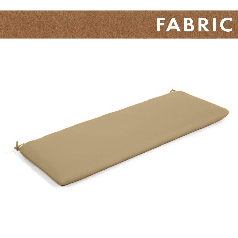 Canvas Teak Bench Cushion