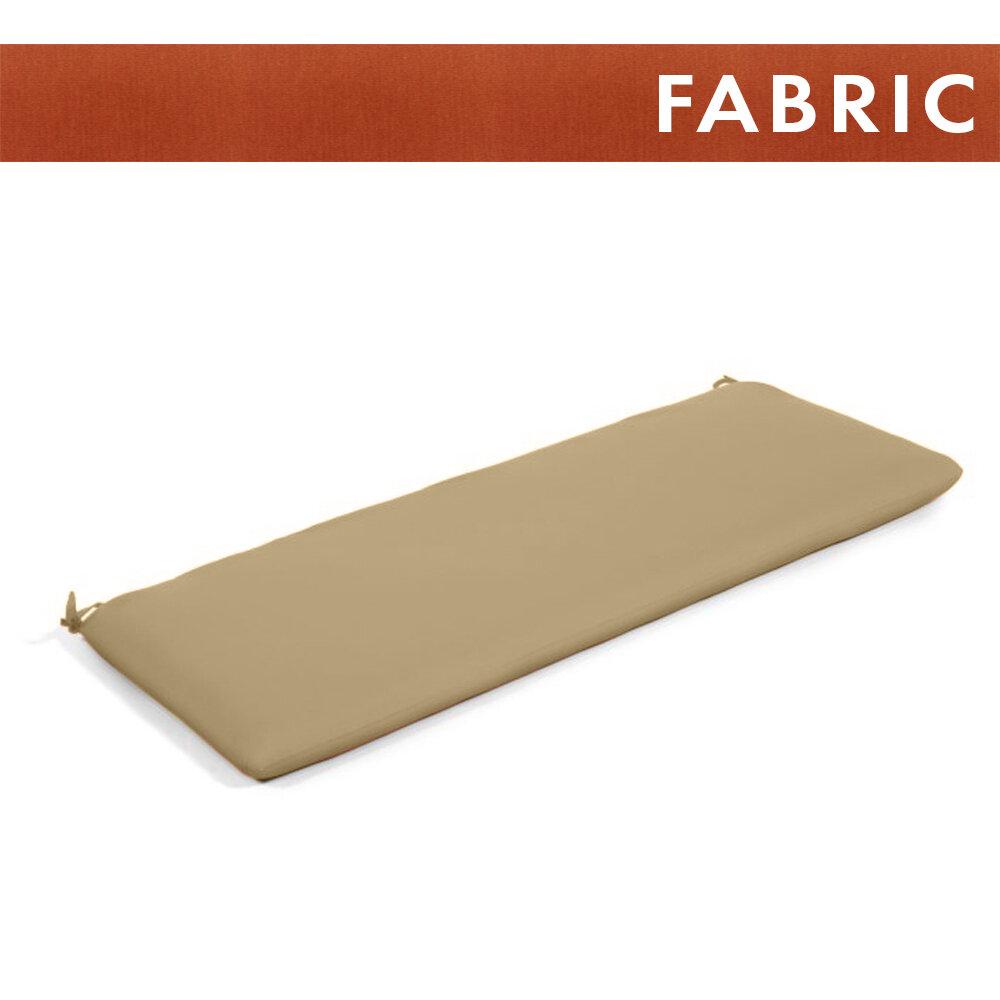 Canvas Brick Bench Cushion