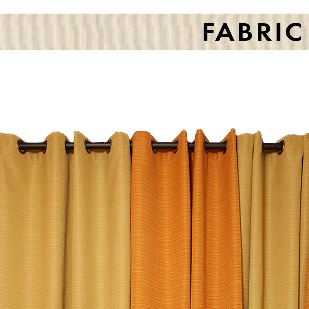 Mist Sand Ext Curtain Panel Brronze Grommts