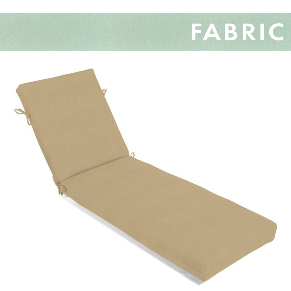 Canvas Spa Chaise Cushion