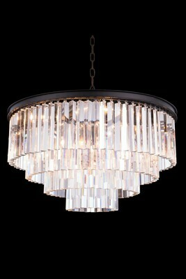 Urban Classic Mocha Brown 17 Lt Pendant (DISPLAY ONLY)