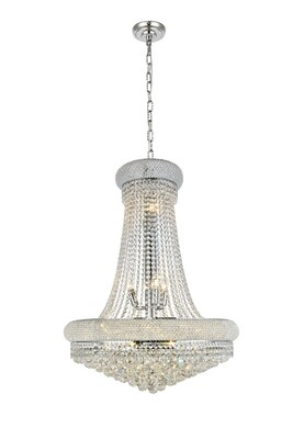 Primo Chrome Royal Cut 14 Lt Pendant (DISPLAY ONLY)