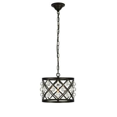 Camden Black 1 Lt Pendant (DISPLAY ONLY)