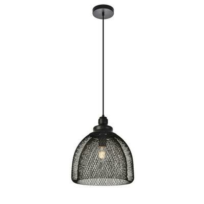 Warren Black 1 Lt Pendant