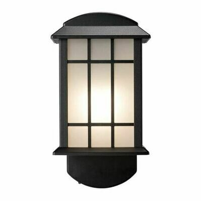 Craftsman Comp Textured Black Smart Security Light