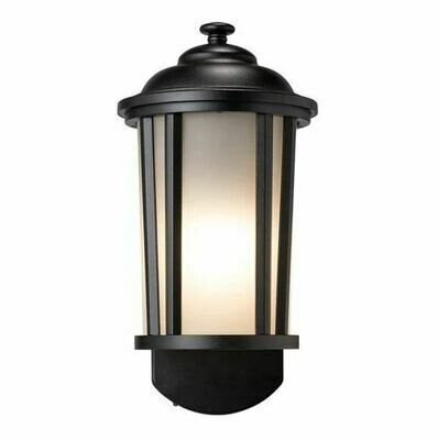Tradition Comp Textured Black Smart Security Light