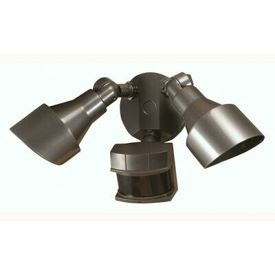 Bronze 2 Lt 100W Halogen Motion Security Light (DISPLAY ONLY)