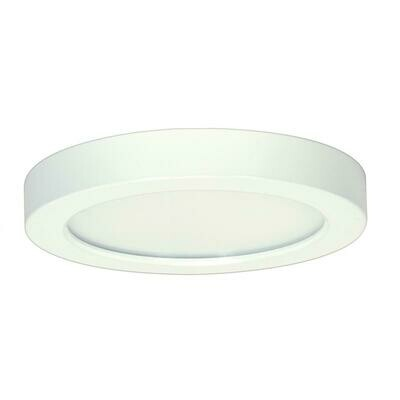 White Round LED Flush Mount (DISPLAY ONLY)