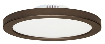 Blink Bronze 3K Slim LED Flush Mount 5/8 Edge