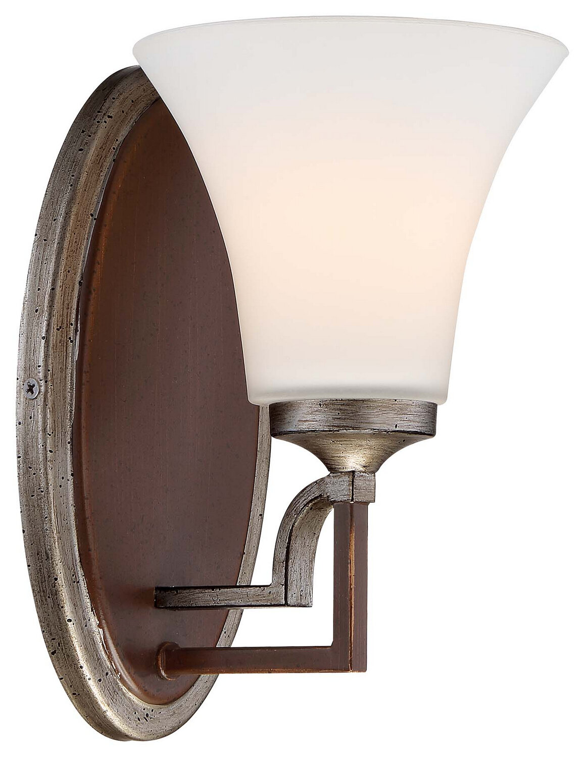 Astrapia Dark Rubbed Sienna 1 Lt Sconce