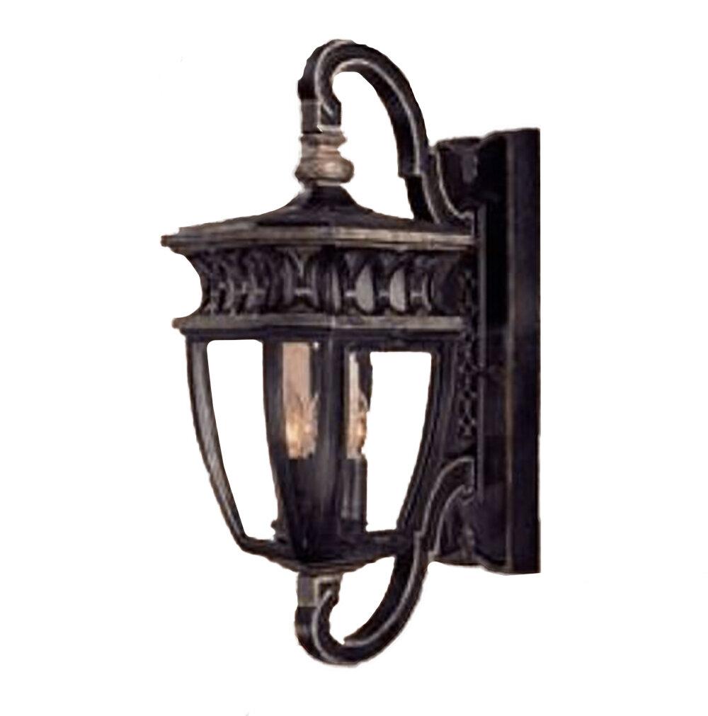 Capolona Heritage/Silver Exterior Wall Lantern
