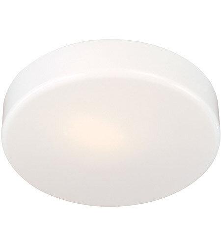 White Acrylic Flush Mount (DISPLAY ONLY)