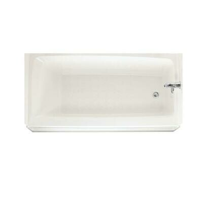 Veritek White Right Hand Drain Bath Tub (DISPLAY ONLY)