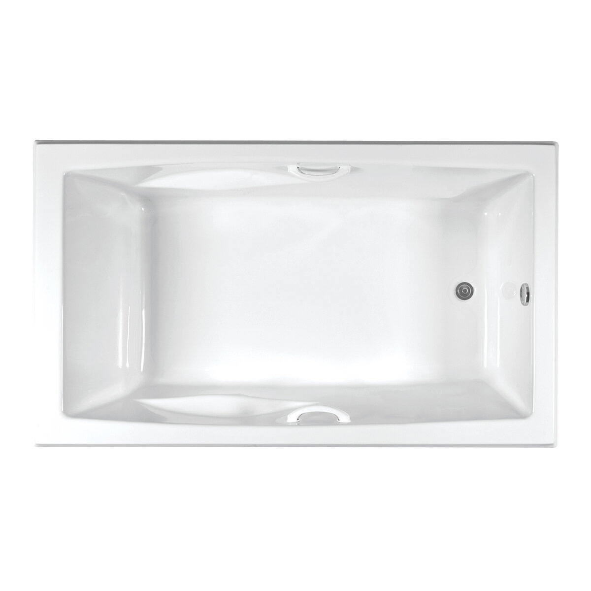 Brentwood 3672 Rectangle Swirl-Way Tub