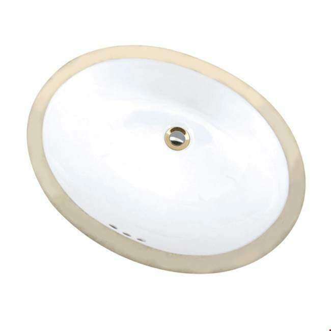 Maple Biscuit Oval Undermount Sink