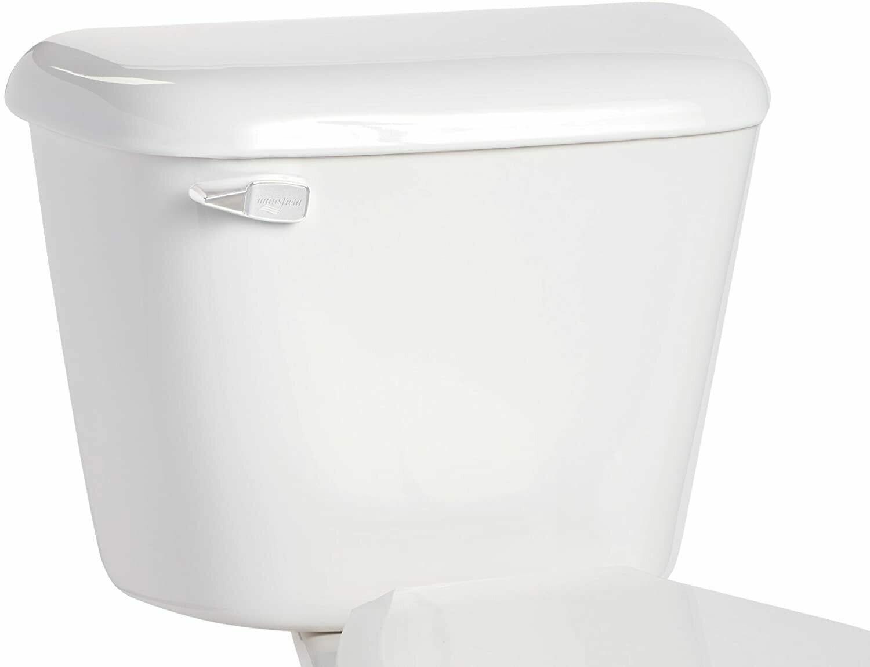 Alto White Tank/Lid w/White Flush Lever