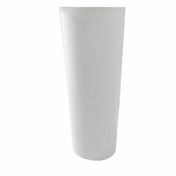 Enso White Pedestal Leg