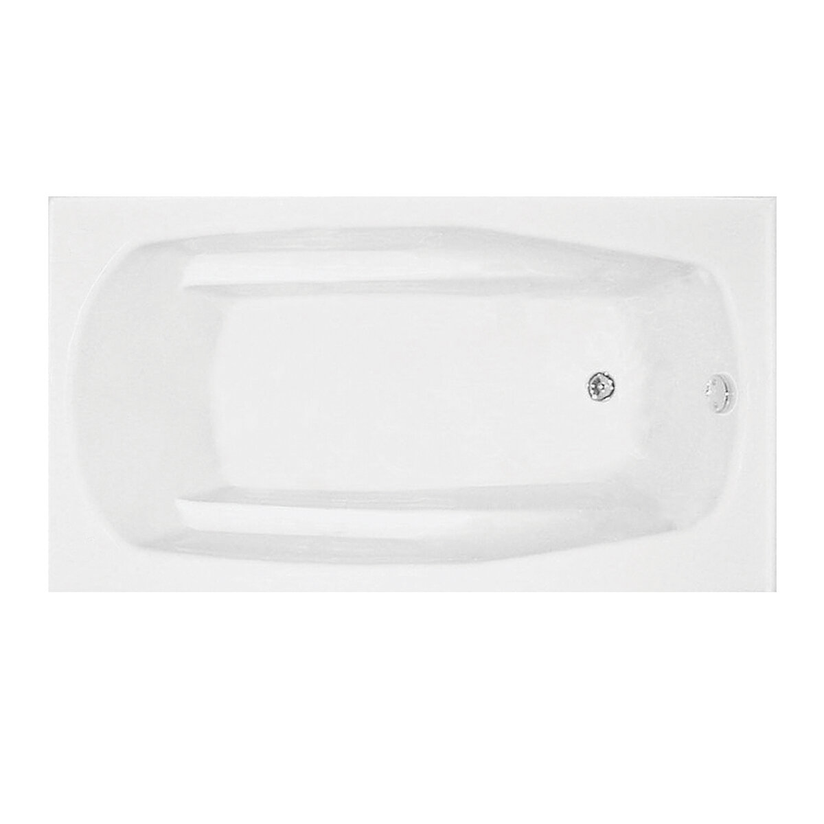 3261 TFS R Pro-Fit Biscuit Skirt Rectangle Tub