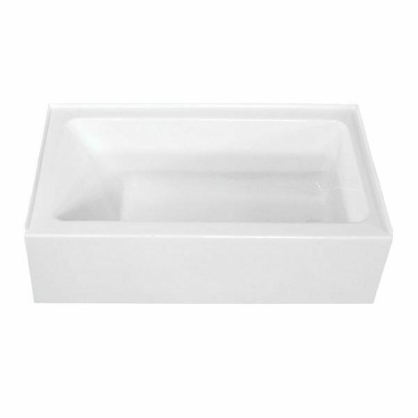 Pro-Spec 3060TFS Right Hand White Acrylic Tub