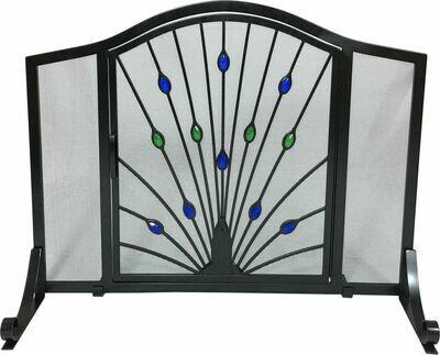 Black Wrought Iron Flat Panel Screen