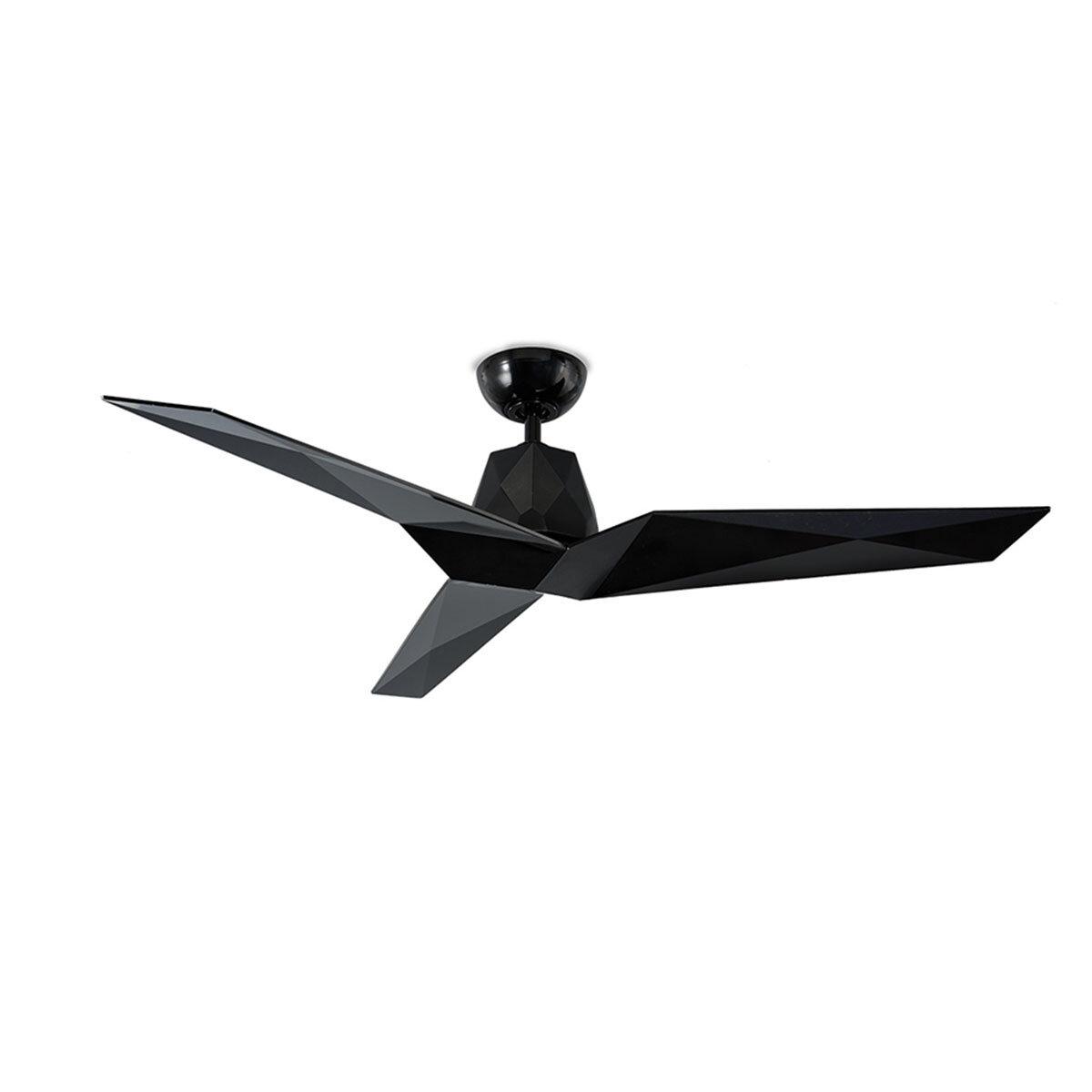Vortex Gloss Black Ceiling Fan