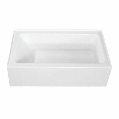 Pro-Spec 3060TFS Right Hand White Acrylic Tub