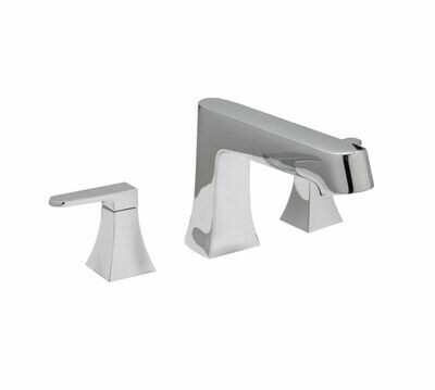 Reflection Chrome 3Pc Roman Tub Filler Faucet