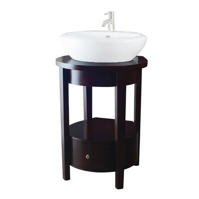 Enso Java Vanity w/Drawer (DISPLAY ONLY)