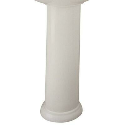Waverly White Pedestal Base/Leg Only