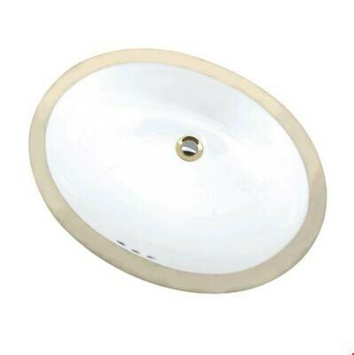 Maple Biscuit Oval Undermount Sink (DISPLAY ONLY)