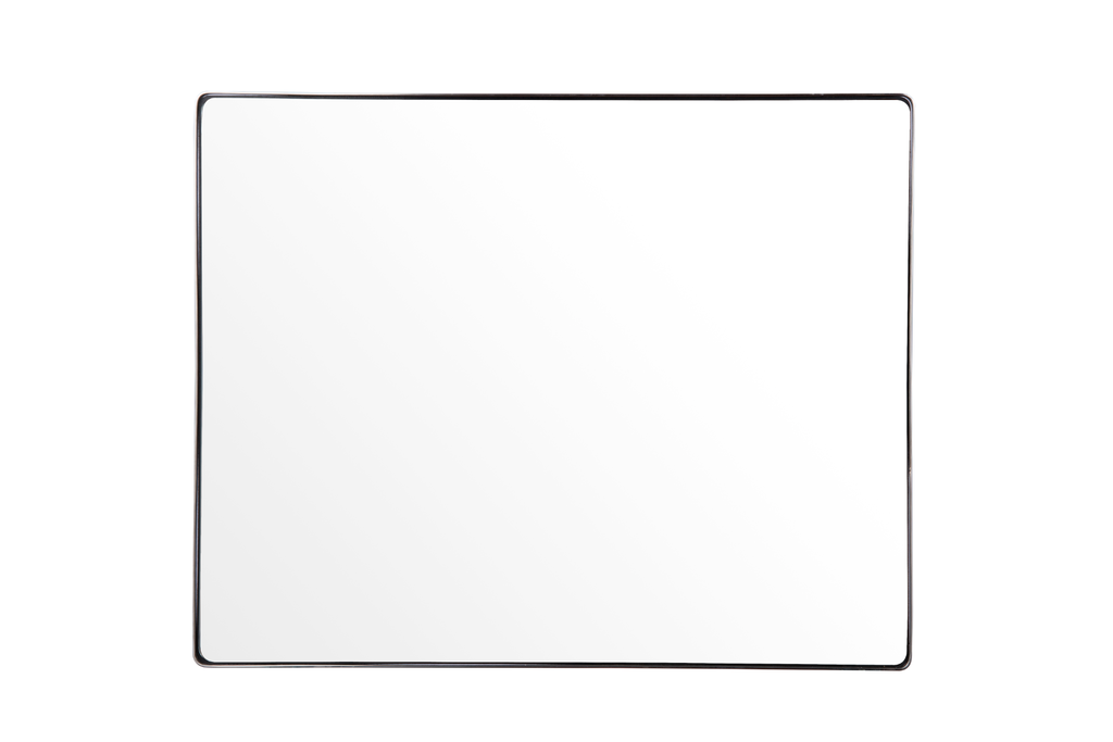 Kye Brush Nickel Round Wall Mirror