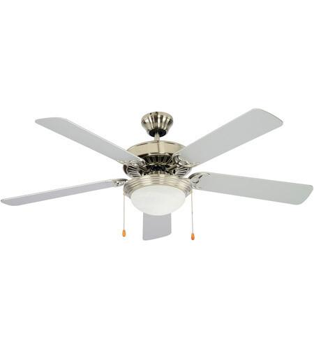 Westwood Brushed Nickel Ceiling Fan w/Blades & Light Kit
