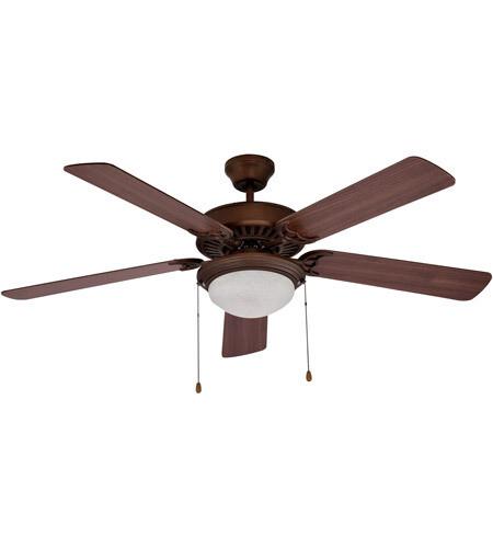 Westwood Oil Rubbed Bronze Ceiling Fan w/Blades & Light Kit