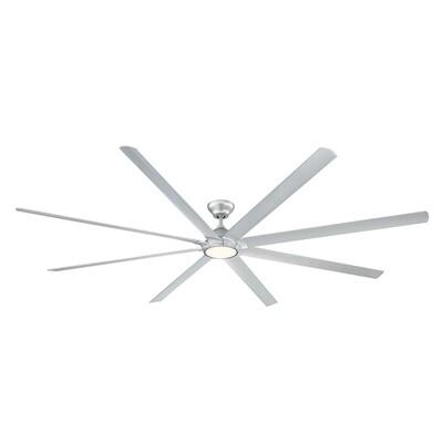 Hydra Titan Silver Fan w/LED Light Kit