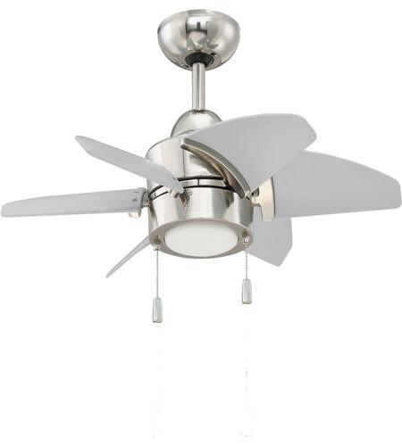 Propel Polish Nickel 6 Blade Ceiling Fan